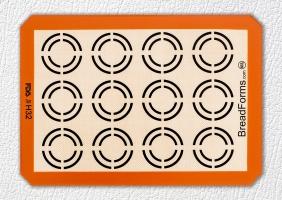 硅胶玻纤烤箱垫
